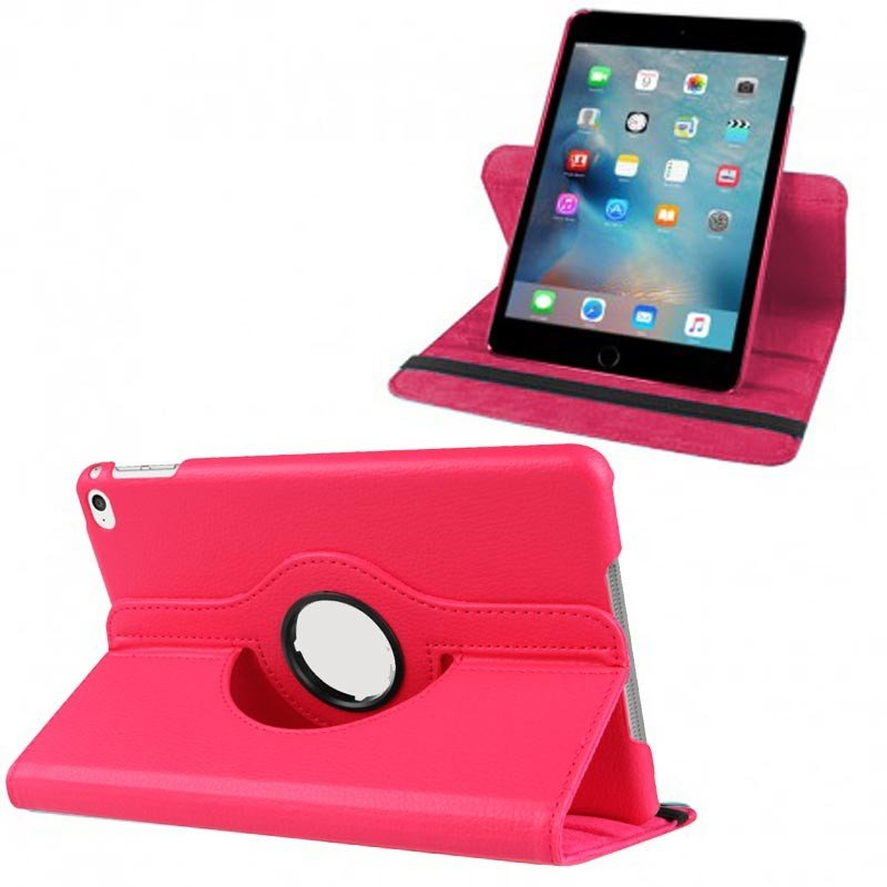 Funda iPad Mini 4 / iPad Mini 5 (2019) Polipiel Rosa