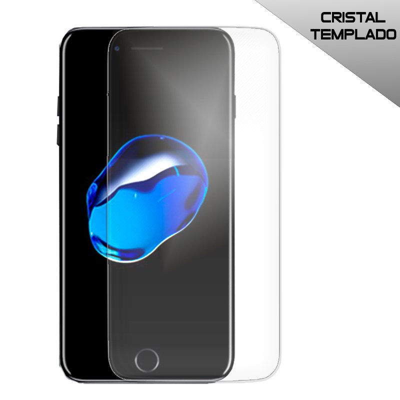 Protector Pantalla Cristal Templado iPhone 7 Plus / iPhone 8 Plus