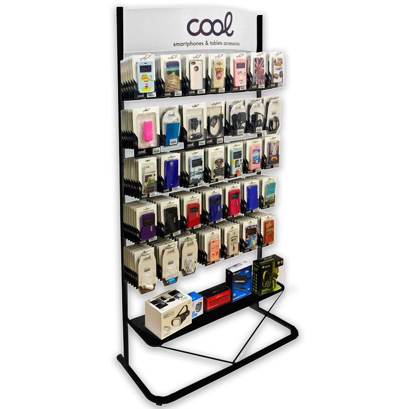 Expositor COOL Accesorios Metalico Grande (Negro)