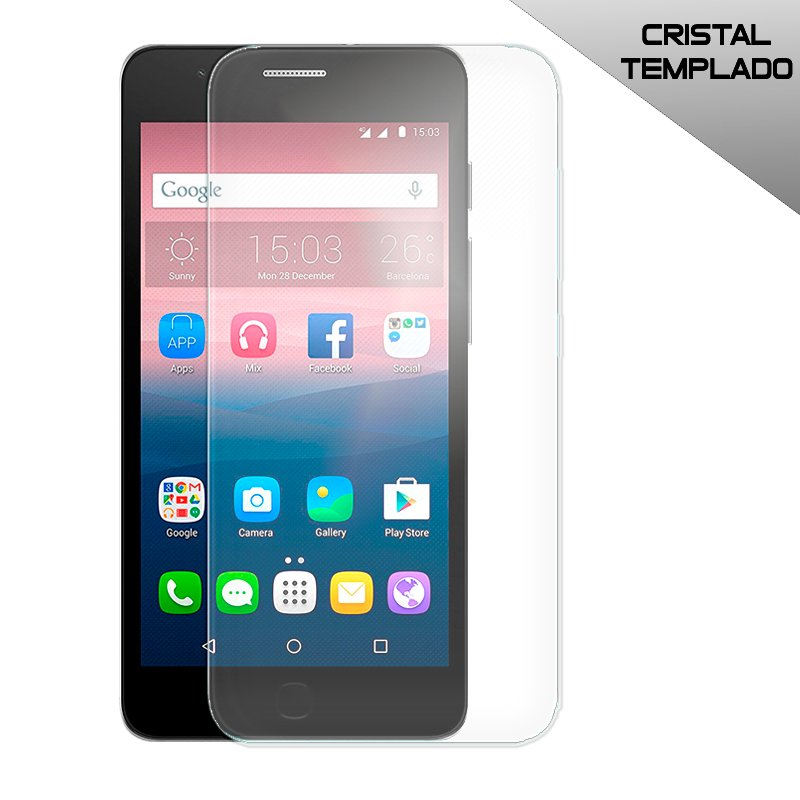 Protector Pantalla Cristal Templado Alcatel Pop Up