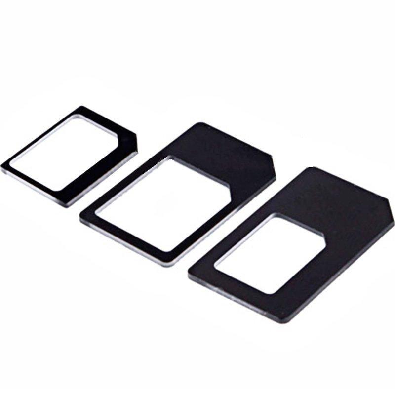 Adaptador 2 en 1 Nano Sim conversión Micro Sim / SIM