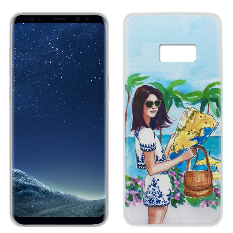 Carcasa Samsung G955 Galaxy S8 Plus Dibujos Travel