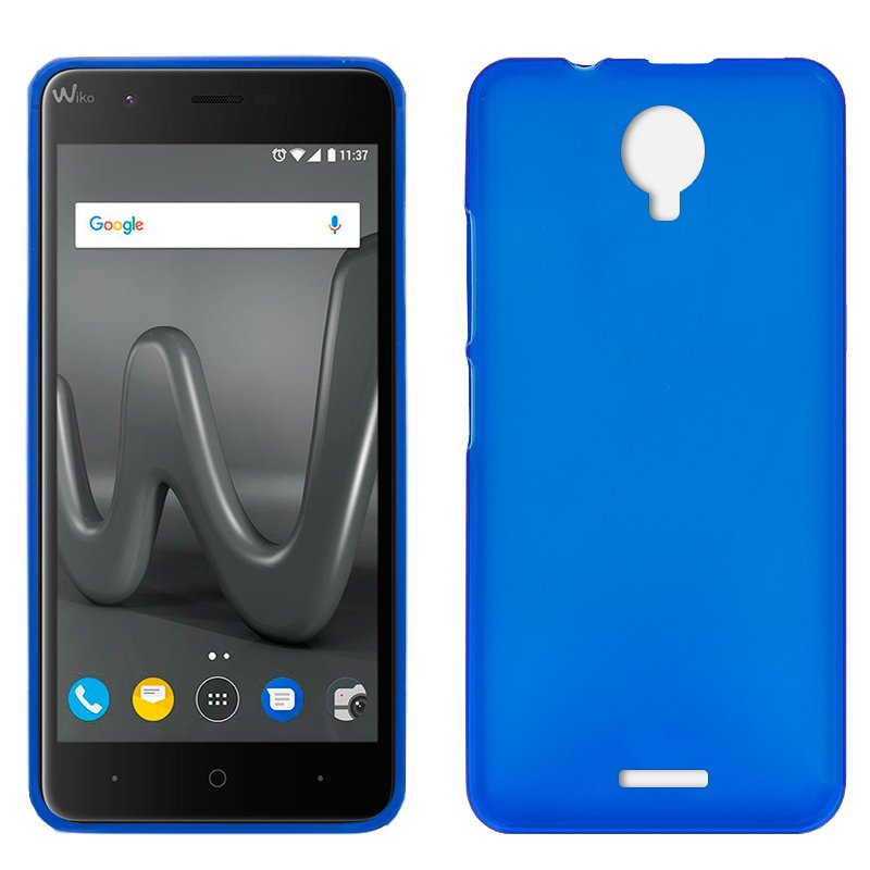 Funda Silicona Wiko Harry (Azul)