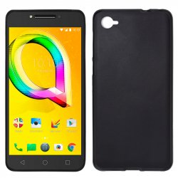 Funda Silicona Alcatel A5 Led (Negro)