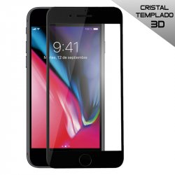 Protector Pantalla Cristal Templado iPhone 8 (3D Negro)