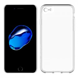 Funda Silicona iPhone 7 / iPhone 8 (Transparente)