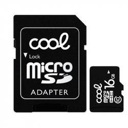 Tarjeta Memoria Micro SD con Adapt. x16 GB COOL (Clase 10)