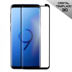 Protector Pantalla Cristal Templado Samsung G960 Galaxy S9 (Curvo Borde Negro)