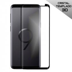 Protector Pantalla Cristal Templado Samsung G965 Galaxy S9 Plus (Curvo Borde Negro)
