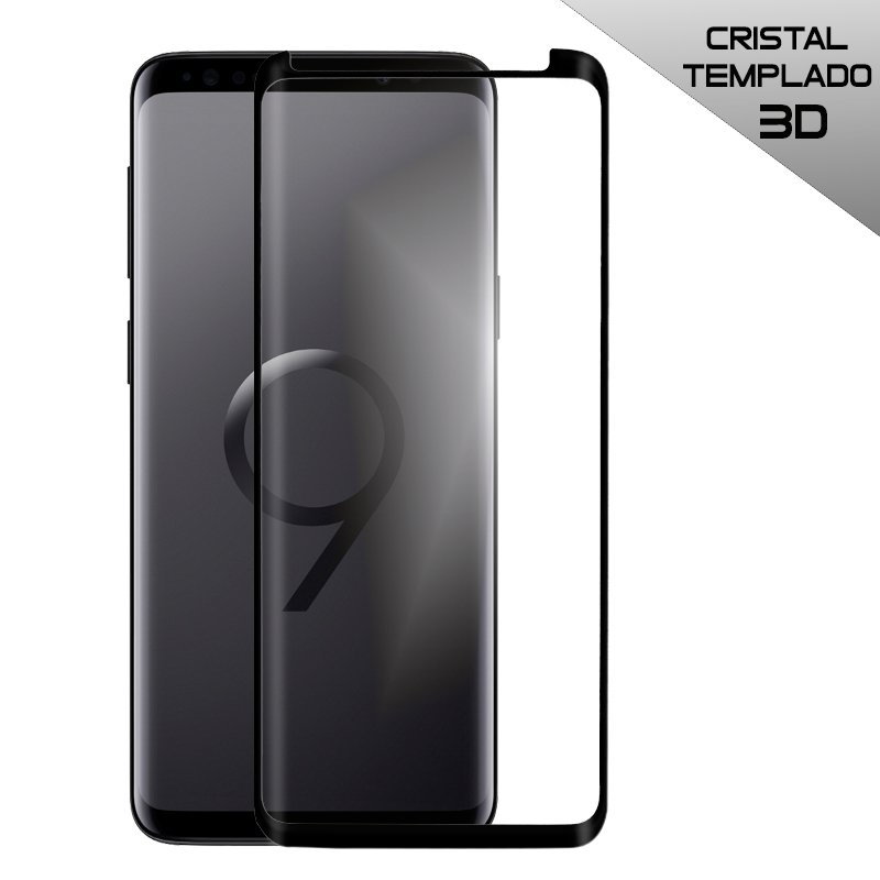 Protector Pantalla Cristal Templado COOL para Samsung G965 Galaxy S9 Plus (Curvo)