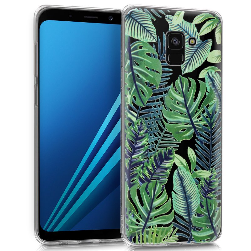 Carcasa Samsung A530 Galaxy A8 (2018) Clear Tropical