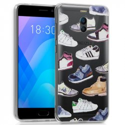 Carcasa Meizu M6 Note Clear Zapatillas
