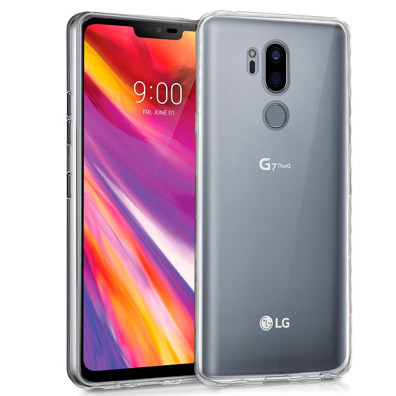 Funda Silicona LG G7 ThinQ (Transparente)