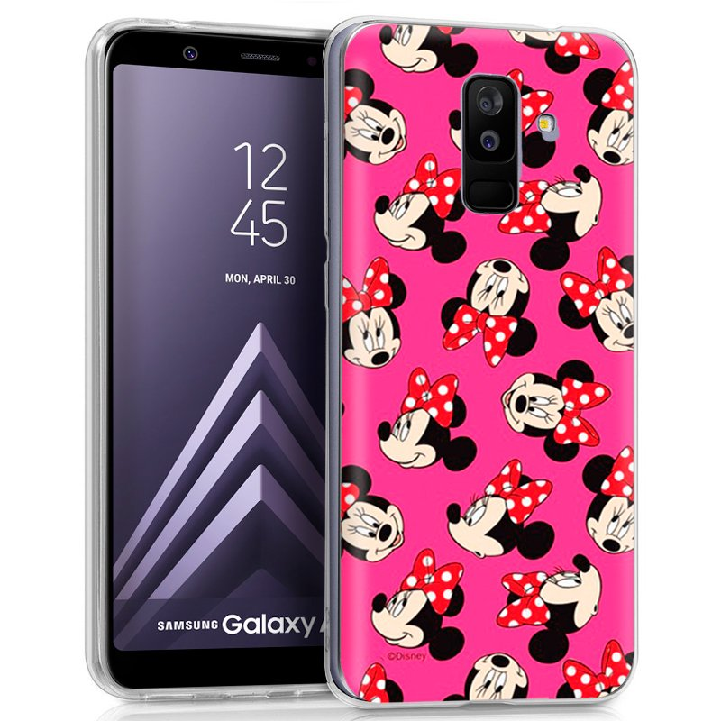 Carcasa Samsung A605 Galaxy A6 Plus Licencia Disney Minnie