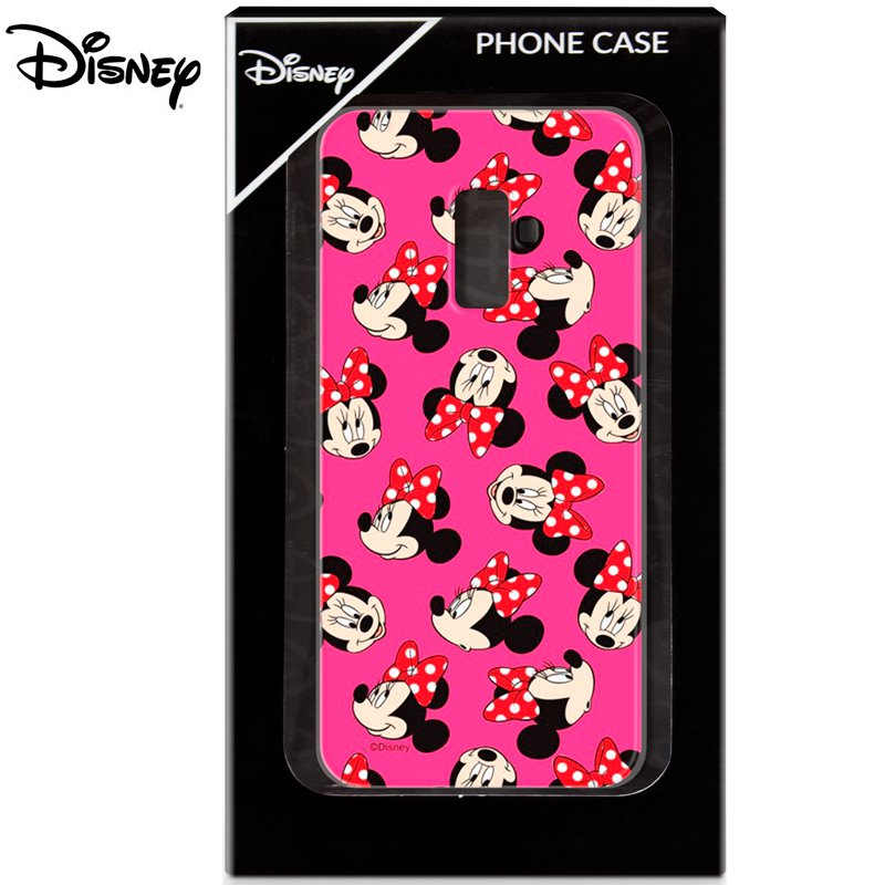 Carcasa Samsung A605 Galaxy A6 Plus Licencia Disney Minnie Rosa
