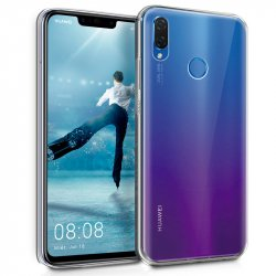 Funda Silicona Huawei P Smart Plus (Transparente)