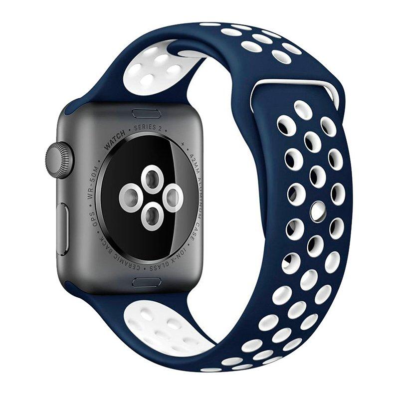 Correa COOL para Apple Watch Series 1 / 2 / 3 / 4 / 5 / 6 / SE (38 / 40 mm) Sport Azul