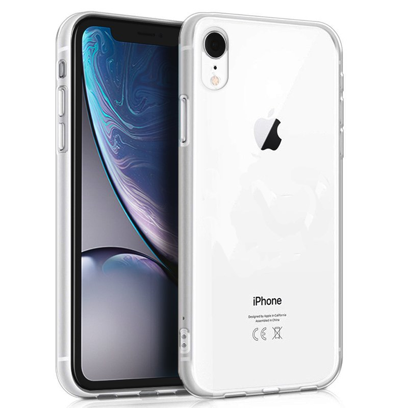 Funda Silicona iPhone XR (Transparente)