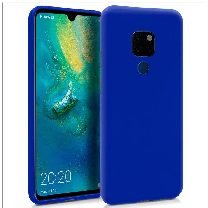 Funda Silicona Huawei Mate 20 (Azul)