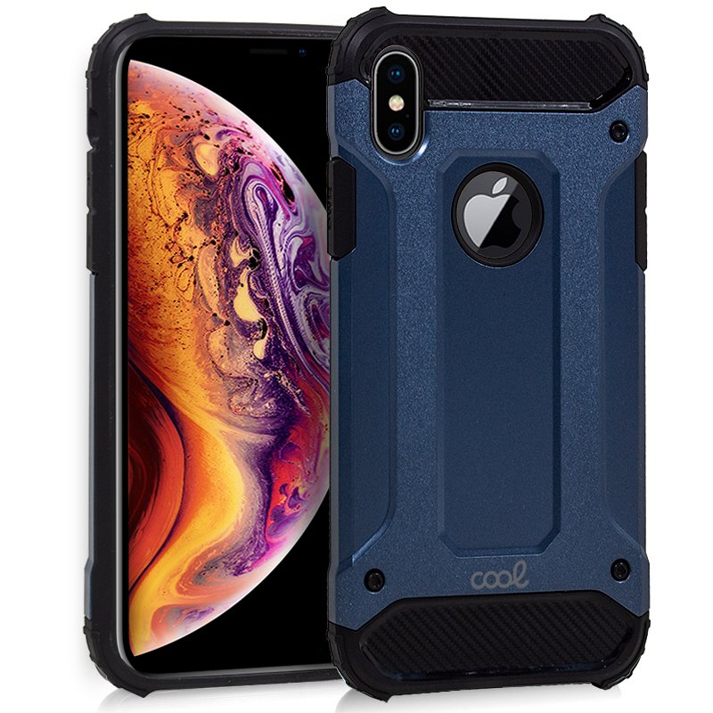 Carcasa iPhone XS Max Hard Case Azul