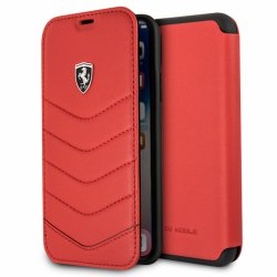 Funda Flip Cover iPhone XR Licencia Ferrari Rojo