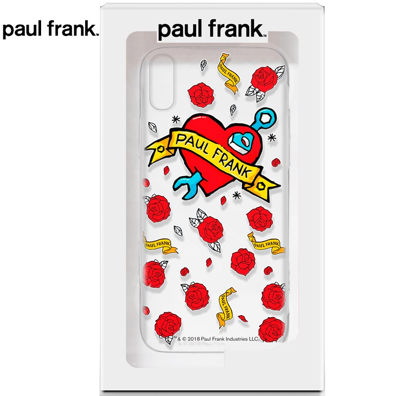 Carcasa iPhone XS Max Licencia Paul Frank Tattoo