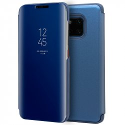 Funda Flip Cover Huawei Mate 20 Pro Clear View Azul