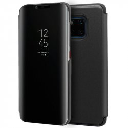 Funda Flip Cover Huawei Mate 20 Pro Clear View Negro