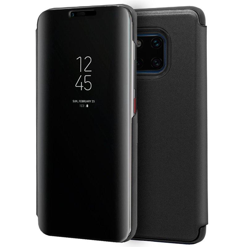 Funda Flip Cover Huawei Mate 20 Pro Clear View Negro