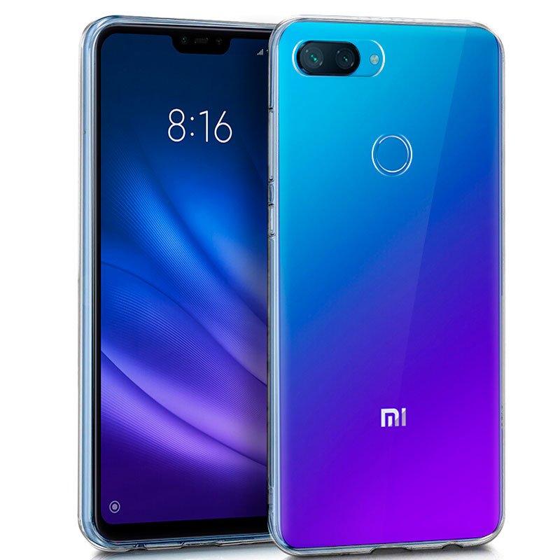 Funda Silicona Xiaomi Mi 8 Lite (Transparente)