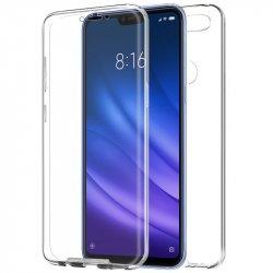 Funda Silicona 3D Xiaomi Mi8 Lite (Transparente Frontal + Trasera)