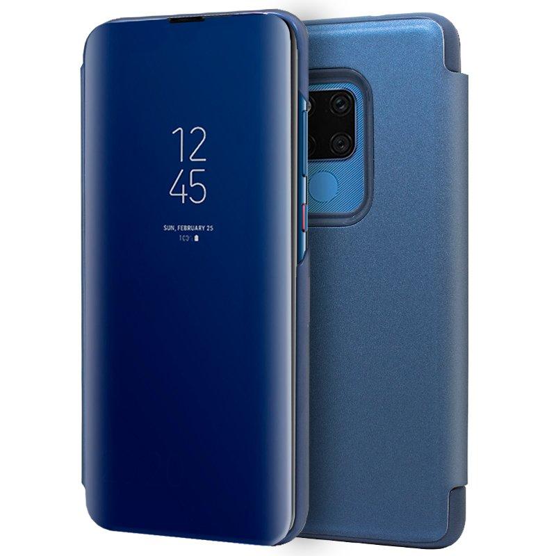 Funda Flip Cover Huawei Mate 20 X Clear View Azul