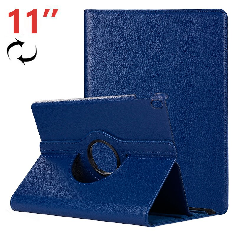 Funda iPad Pro 11 pulg Giratoria Polipiel Azul