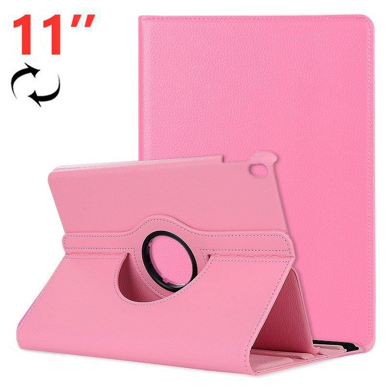 Funda iPad Pro 11 pulg Giratoria Polipiel Rosa