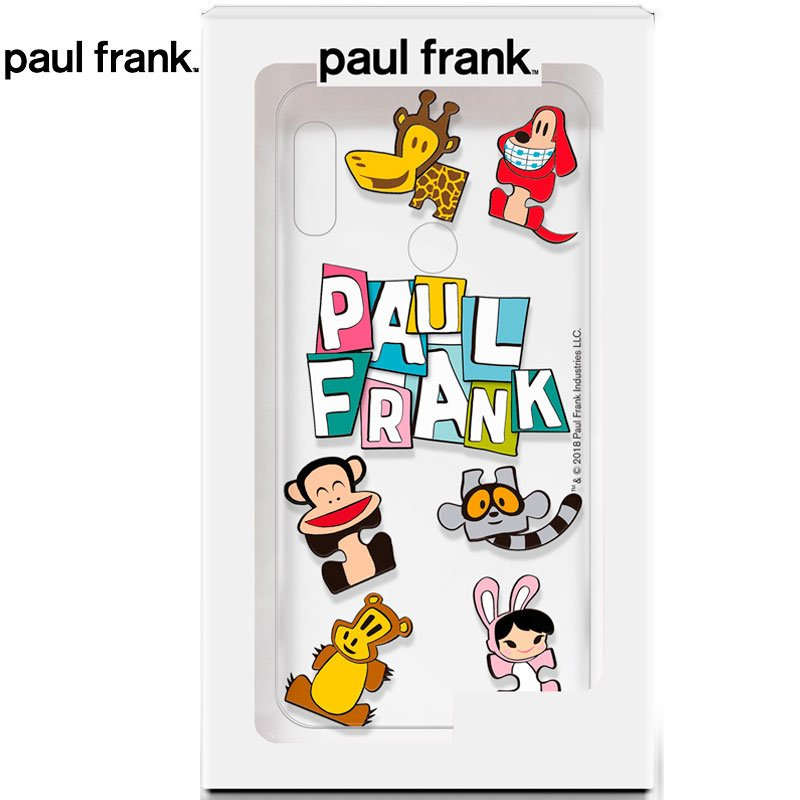 Carcasa Xiaomi Redmi Note 6 Pro Licencia Paul Frank Animals