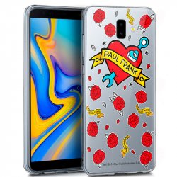 Carcasa Samsung J610 Galaxy J6 Plus Licencia Paul Frank Tatto