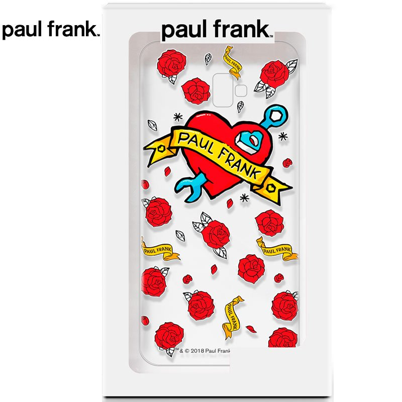 Carcasa Samsung J610 Galaxy J6 Plus Licencia Paul Frank Tattoo