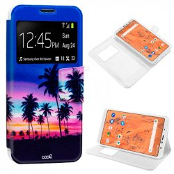 Funda Flip Cover BQ Aquaris X2 / X2 Pro Dibujos Dream