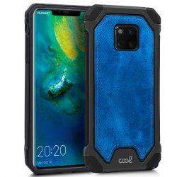 Carcasa Huawei Mate 20 Pro Hard Tela Azul