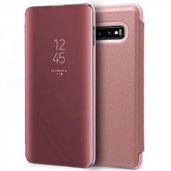 Funda Flip Cover Samsung G970 Galaxy S10 Clear View Rosa