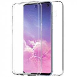 Funda Silicona 3D Samsung G970 Galaxy S10 (Transparente Frontal + Trasera)