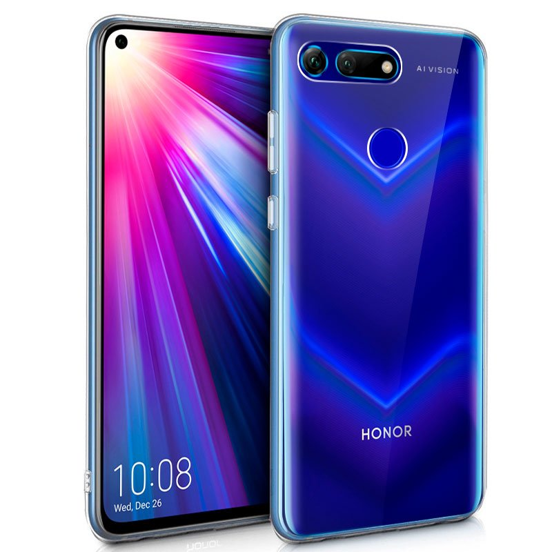 Funda Silicona Huawei Honor View 20 (Transparente)