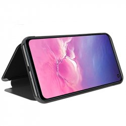 Funda Flip Cover Samsung G970 Galaxy S10e Clear View Negro