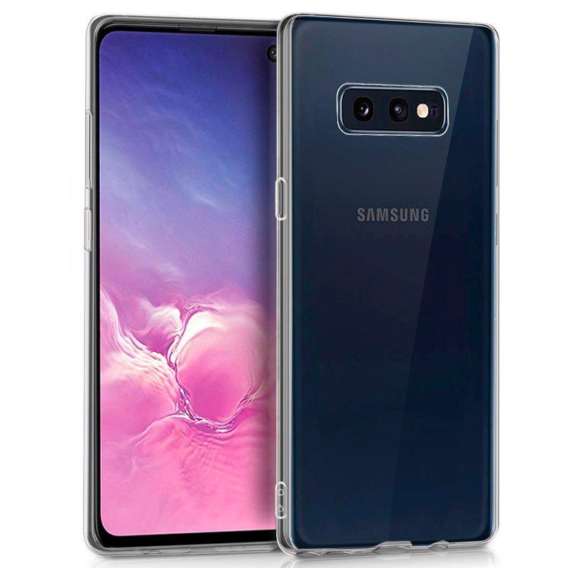Funda Silicona Samsung G970 Galaxy S10e (Transparente)