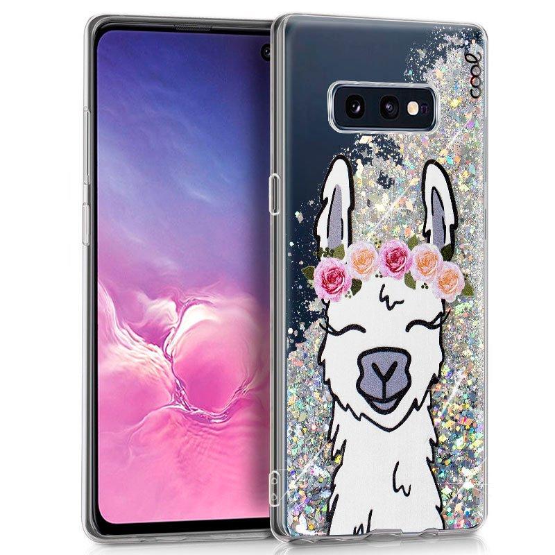 Carcasa Samsung G970 Galaxy S10e Glitter Llama