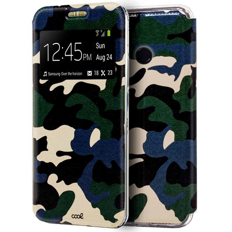 Funda Flip Cover Xiaomi Mi 8 / Mi 8 Pro Dibujos Militar