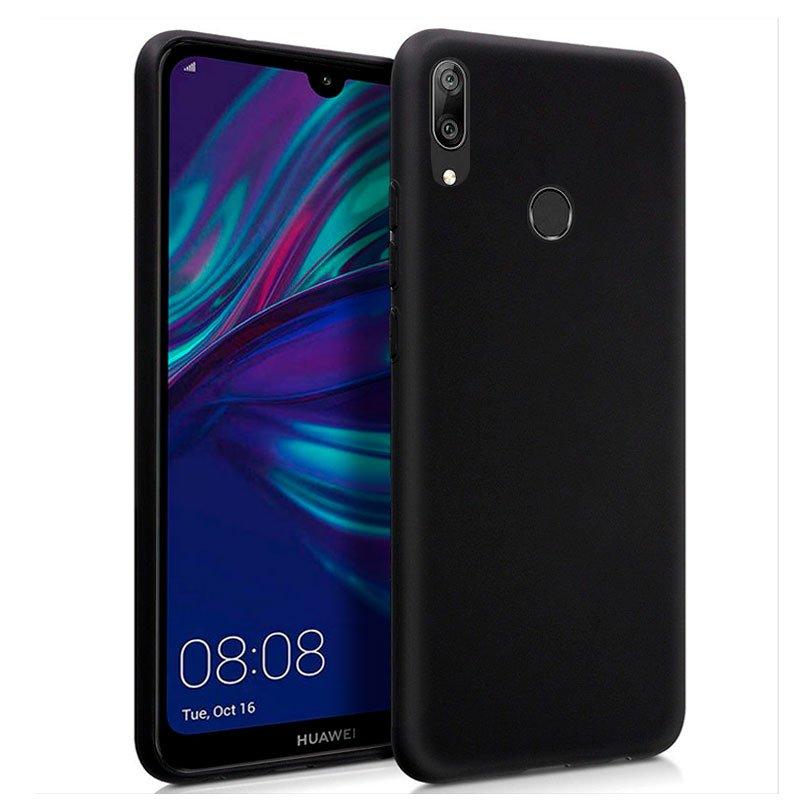 Funda Silicona Huawei Y7 (2019) Negro