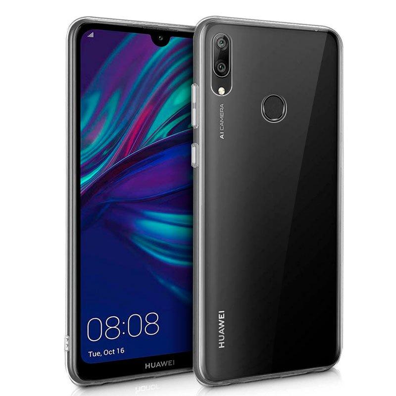 Funda Silicona Huawei Y7 (2019) Transparente