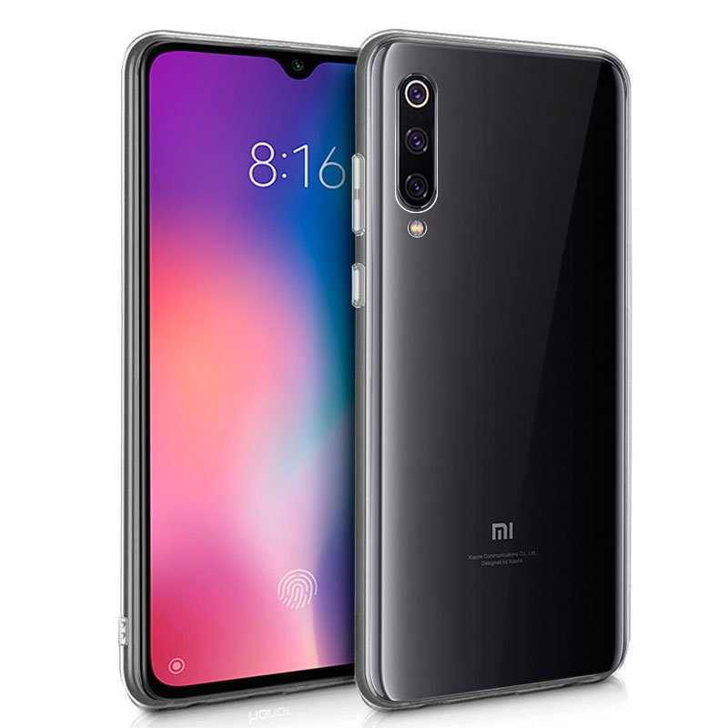 Funda Silicona Xiaomi Mi 9 (Transparente)