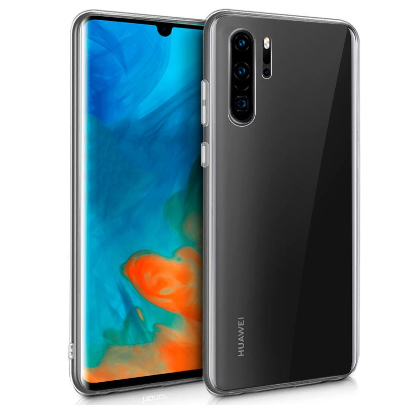 Funda Silicona Huawei P30 Pro (Transparente)